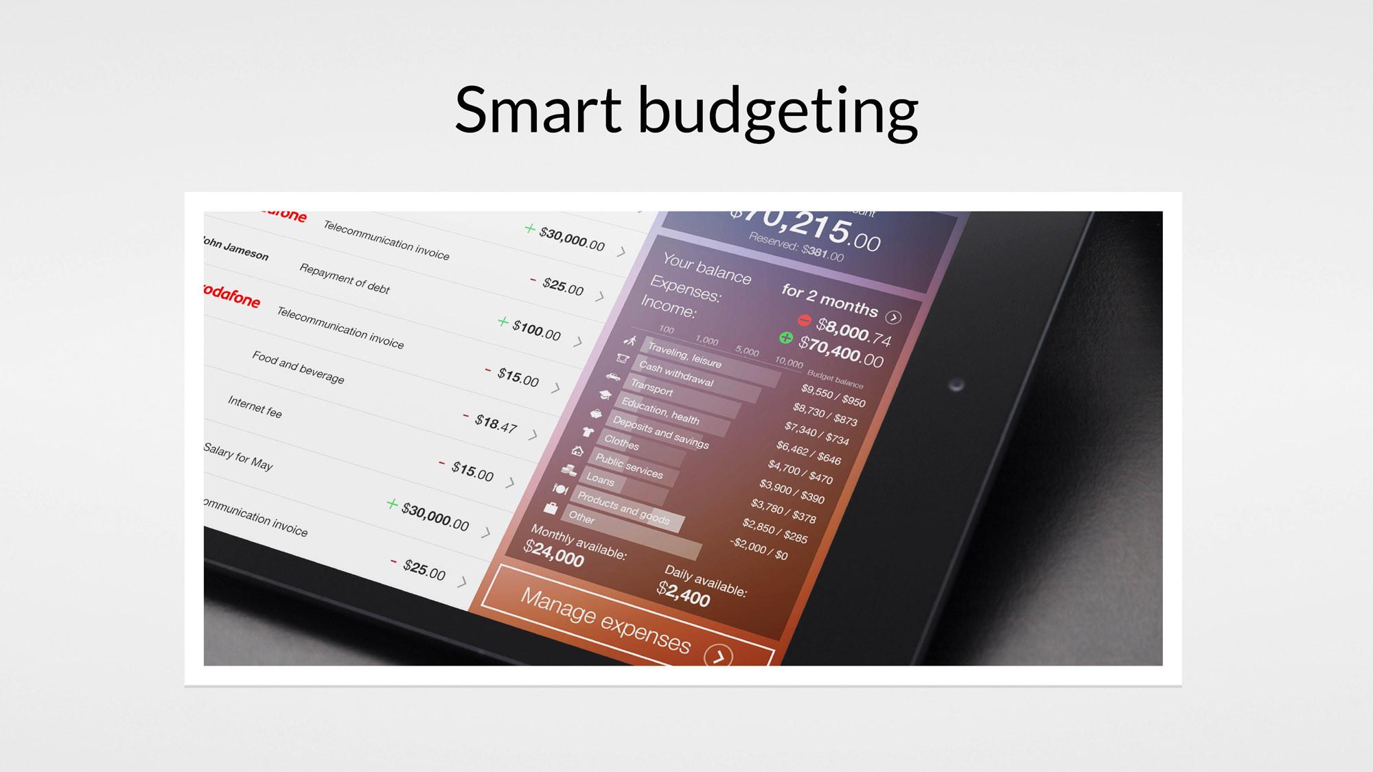 uxda-smart-budgeting-banking-solution