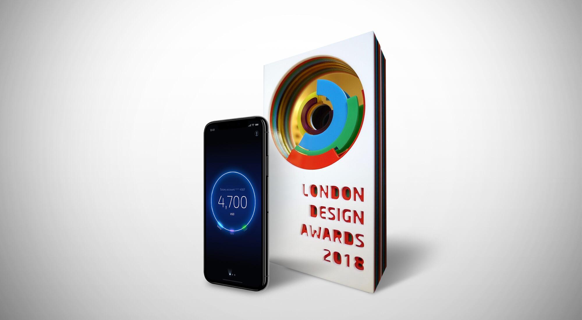 UXDA Wins Gold at the London Design Awards 2018